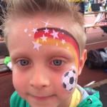 Kurs Kinderschminken Europameisterschaft