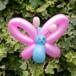 Luftballonfigur Schmetterling Kinderschminkfee Ludwigsburg Stuttgart Heilbronn