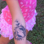 Airbrush Tattoo Dolphin