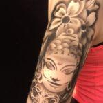 Airbrush Tattoo's, Buddha